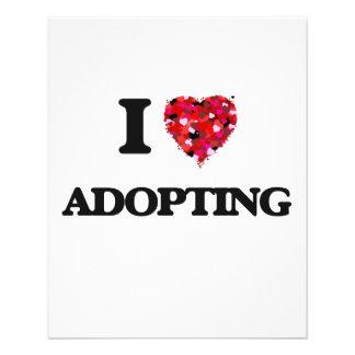 I Love Adopting 11.5 Cm X 14 Cm Flyer