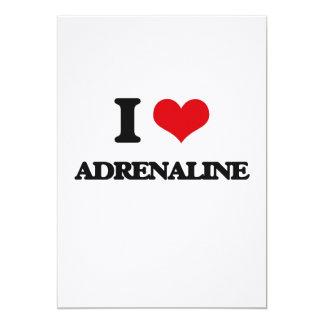 I Love Adrenaline 13 Cm X 18 Cm Invitation Card