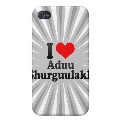 I love Aduu Shurguulakh iPhone 4 Cover