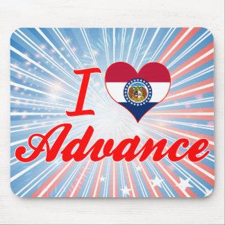 I Love Advance Missouri Mousepad