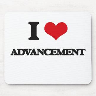 I Love Advancement Mousepad