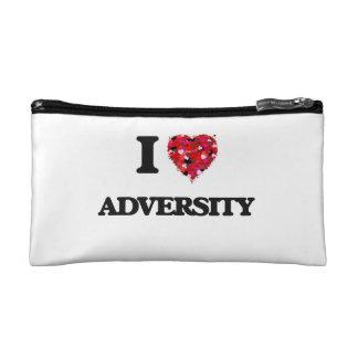 I Love Adversity Makeup Bags