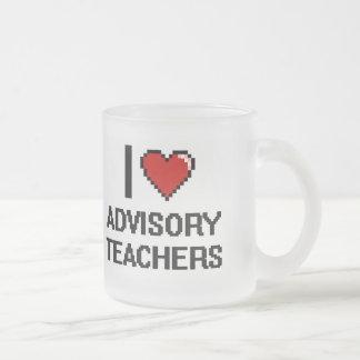 I love Advisory Teachers 10 Oz Frosted Glass Coffee Mug