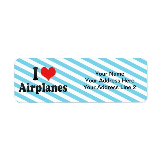 I Love Aeroplanes