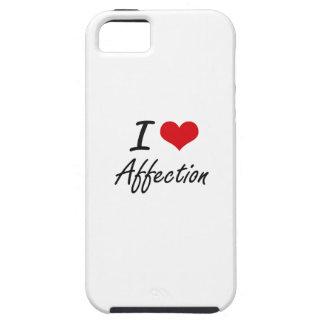 I Love Affection Artistic Design iPhone 5 Cases