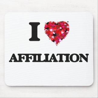 I Love Affiliation Mouse Pad