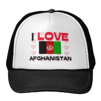 I Love Afghanistan Cap