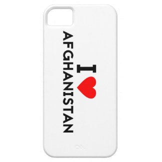 i love Afghanistan country nation heart symbol tex iPhone 5 Cases