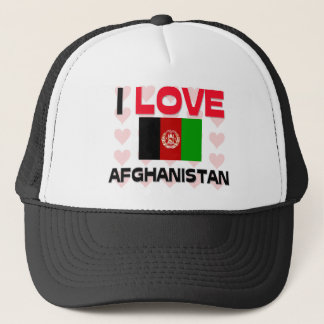 I Love Afghanistan Trucker Hat