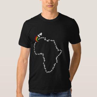 I Love Africa T Shirts