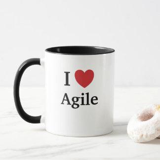 I Love Agile Quote Mug Project Manager Gift Idea
