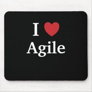 I Love Agile Quote Mug Project Manager Gift Idea Mouse Mat