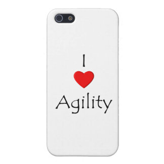 I Love Agility iPhone 5/5S Covers