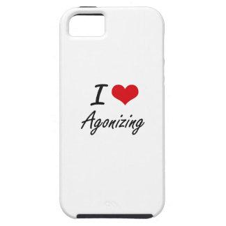 I Love Agonizing Artistic Design Tough iPhone 5 Case