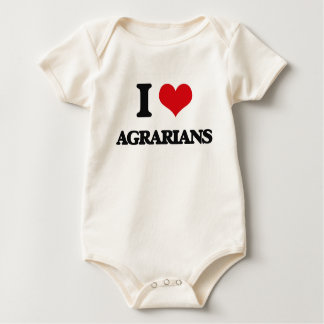 I love Agrarians Baby Creeper