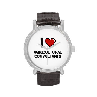 I love Agricultural Consultants Wrist Watches
