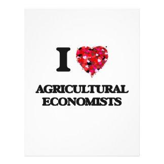 I love Agricultural Economists 21.5 Cm X 28 Cm Flyer