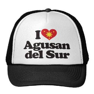 I Love Agusan del Sur Mesh Hats