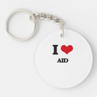 I Love Aid Acrylic Key Chains