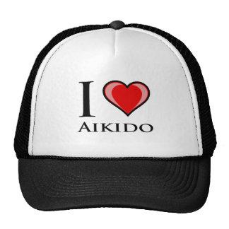 I Love Aikido Cap