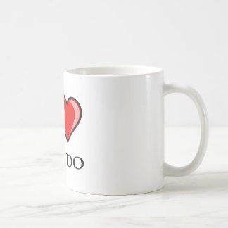 I Love Aikido Coffee Mugs