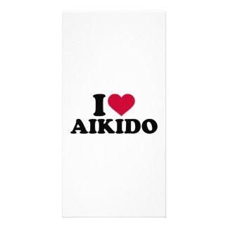 I love Aikido Photo Greeting Card