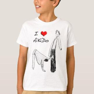 I love Aikido - Sankyo T-Shirt