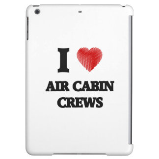 I love Air Cabin Crews (Heart made from words)