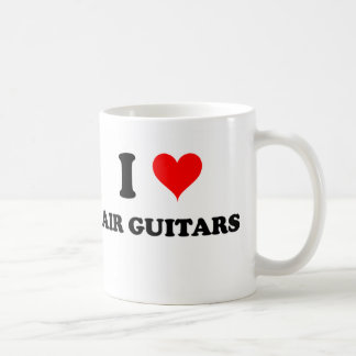 I Love Air Guitars Mugs