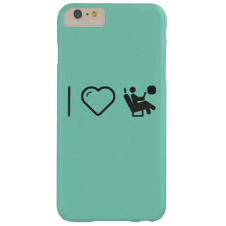 I Love Air-Plane Seats Barely There iPhone 6 Plus Case