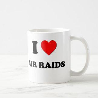 I Love Air Raids Mugs