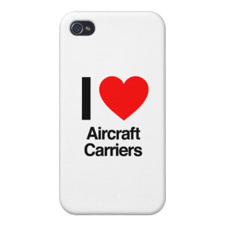 i love aircraft carriers iPhone 4 cases