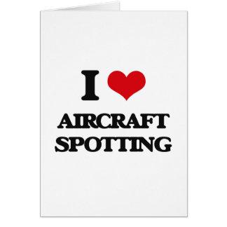 I Love Aircraft Spotting Card