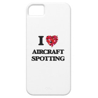 I Love Aircraft Spotting iPhone 5 Covers