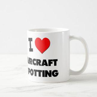 I Love Aircraft Spotting Mugs