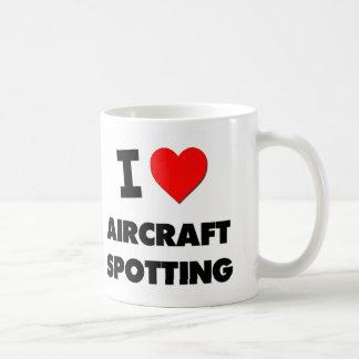I Love Aircraft Spotting Coffee Mug