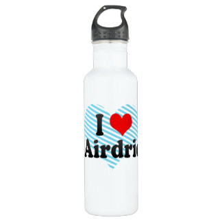 I Love Airdrie, Canada. I Love Airdrie, Canada 710 Ml Water Bottle