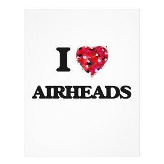 I love Airheads 21.5 Cm X 28 Cm Flyer