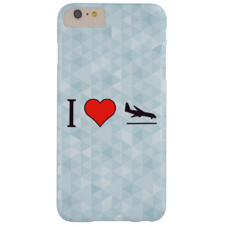 I Love Airplane Landings Barely There iPhone 6 Plus Case