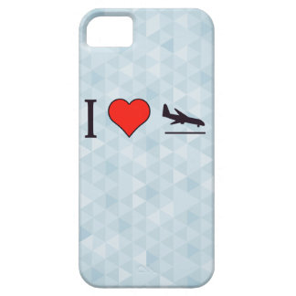 I Love Airplane Landings Case For The iPhone 5