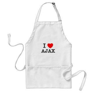 I Love Ajax Aprons