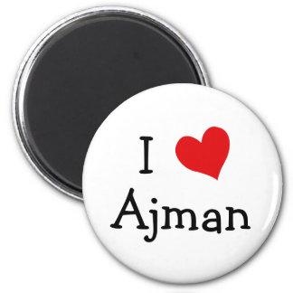 I Love Ajman Magnet