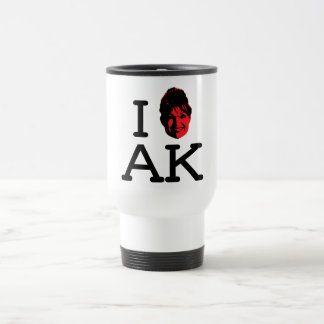 I Love AK - Plain - Travel Mug