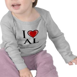 I Love AL - Alabama Tee Shirts