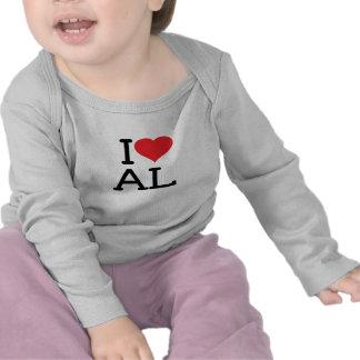I Love AL - Baby Long Sleeve Shirts
