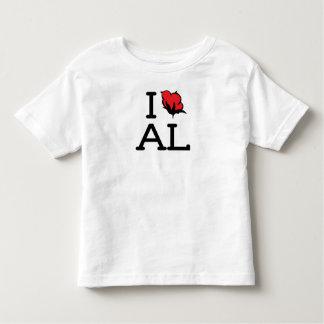I Love AL - Cotton (Toddler) T-shirt