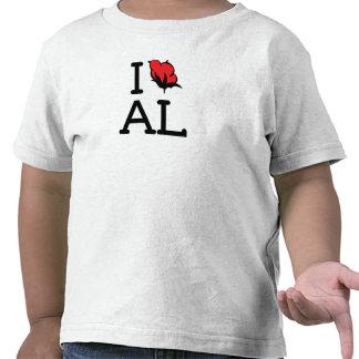 I Love AL - Cotton (Toddler) Tee Shirts