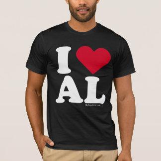 """I LOVE AL""  ""I LOVE ALABAMA"" T-Shirt"