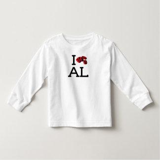 I Love AL - Pecans - Toddler Long Sleeve T-shirt