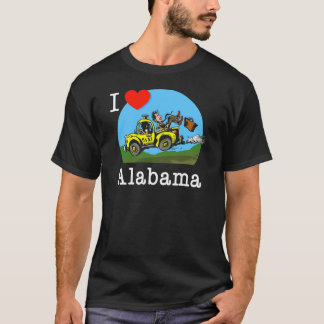 I Love Alabama Country Taxi T-Shirt